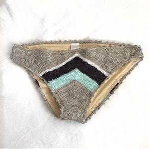 Beauty & the Beach Crochet Bikini bottom